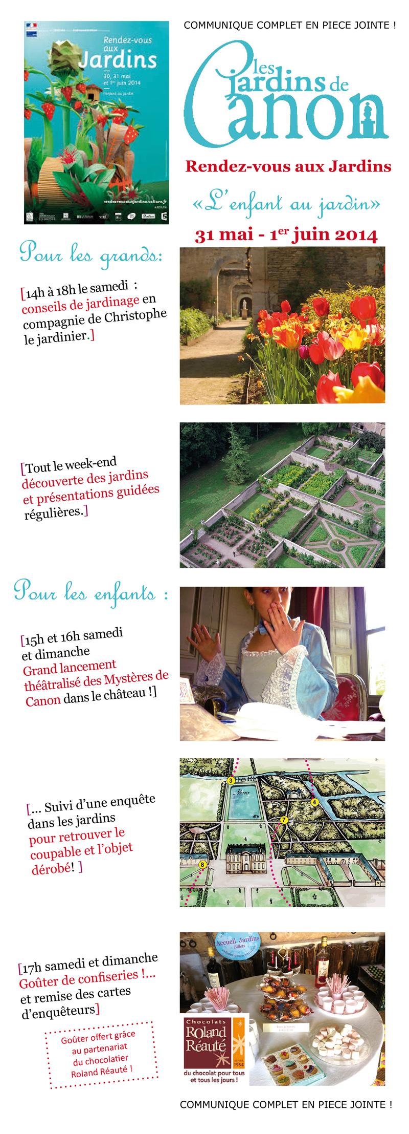 Les jardins de canon la tartine basse normandie for Rdv aux jardins