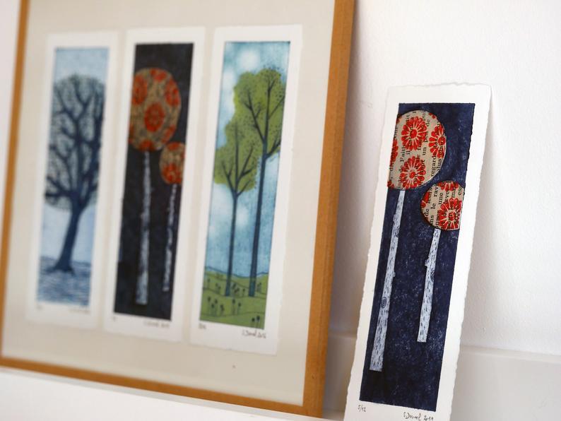 Sabine Duval gravure arbre